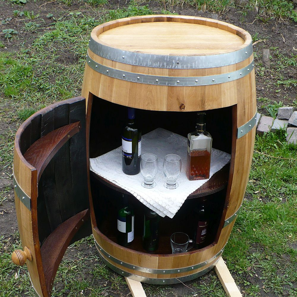 Barrel bar - minibar - homebar